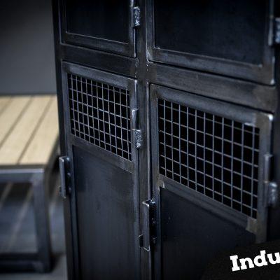 Vestiaires 4 portes Métal Industriel