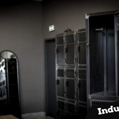 Vestiaires 4 portes Métal Style Industriel