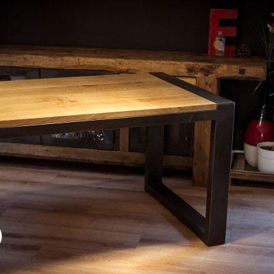 Bureau sur mesure metal et bois