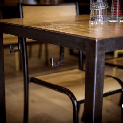 Restaurant Silex et Fourchette Aménagement mobilier