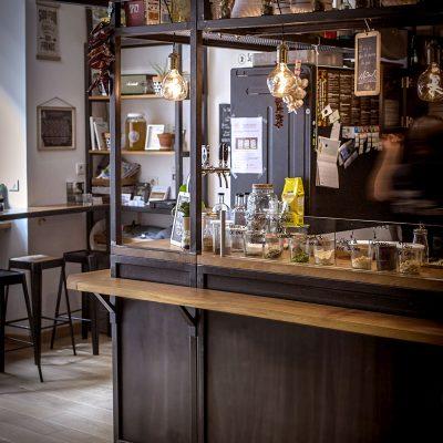 Restaurant Silex et Fourchette Aménagement mobilier Toulouse