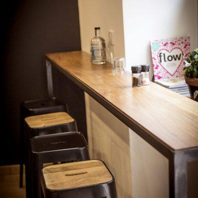 Aménagement Restaurant d'espace sur mesure style industriel