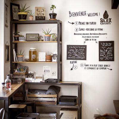 Aménagement Cuisine d'espace sur mesure style industriel