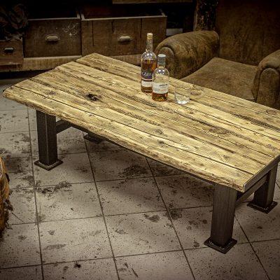 Table basse bois de grange