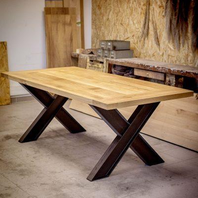 Table brut de sciage